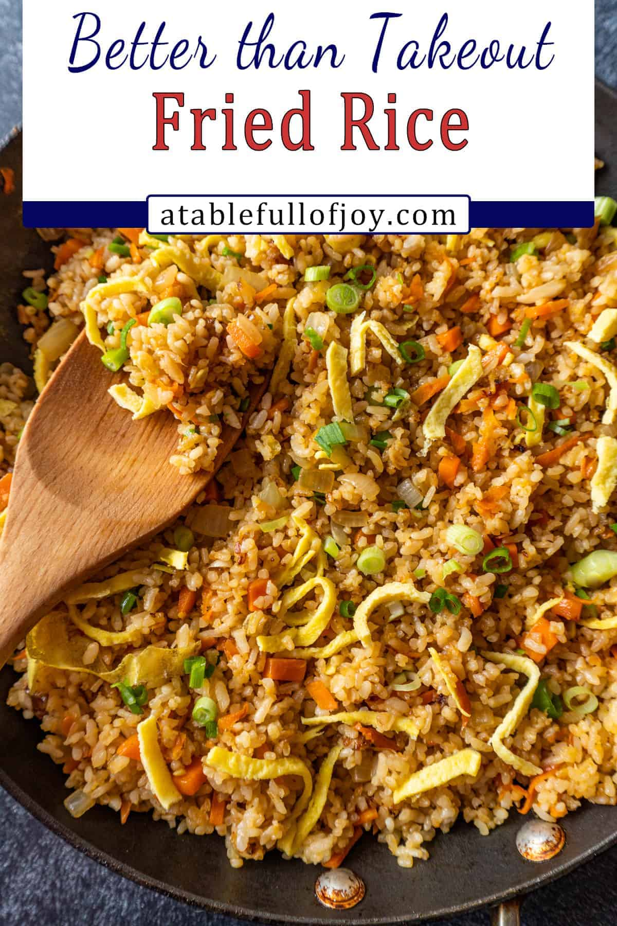 fried rice pinterest pin
