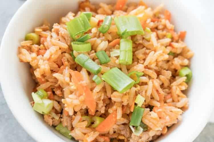 fried rice taste