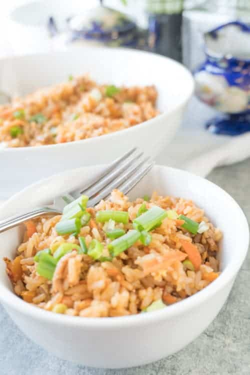 Easy chicken fried rice recipe a table full of joy fried rice taste ccuart Choice Image