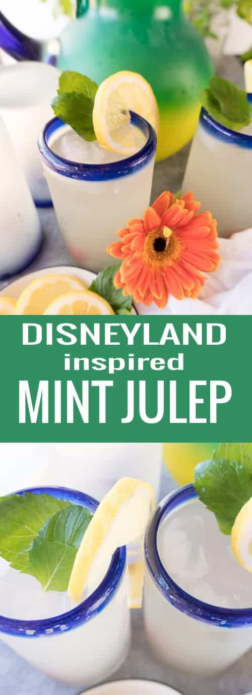 Disney inspired Mint Julep