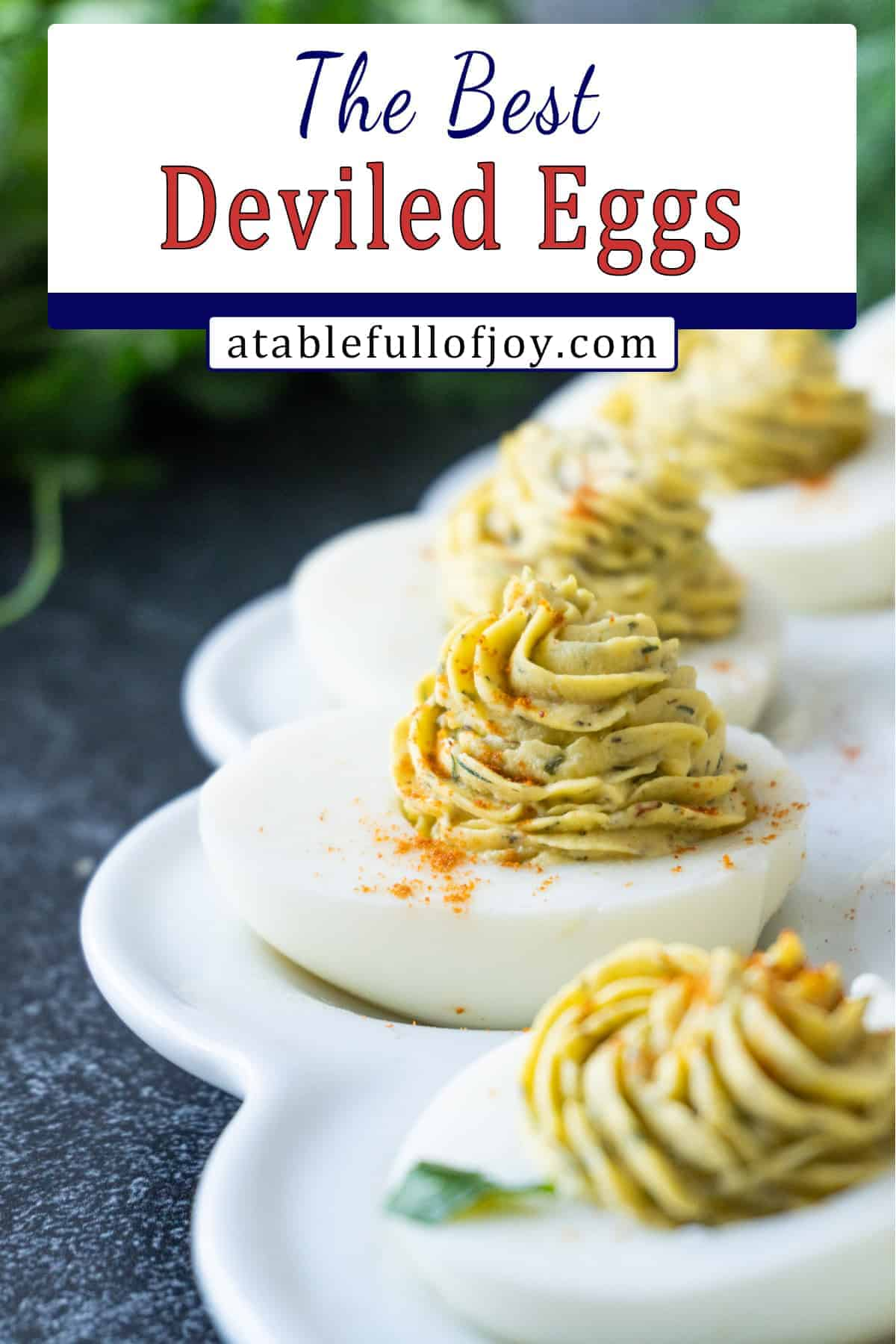 deviled eggs pinterest pin