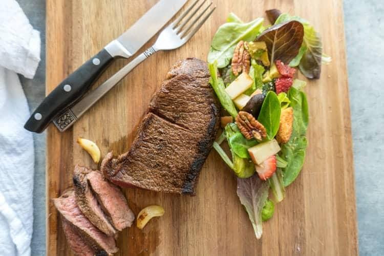 The Perfect Garlic Butter Steak
