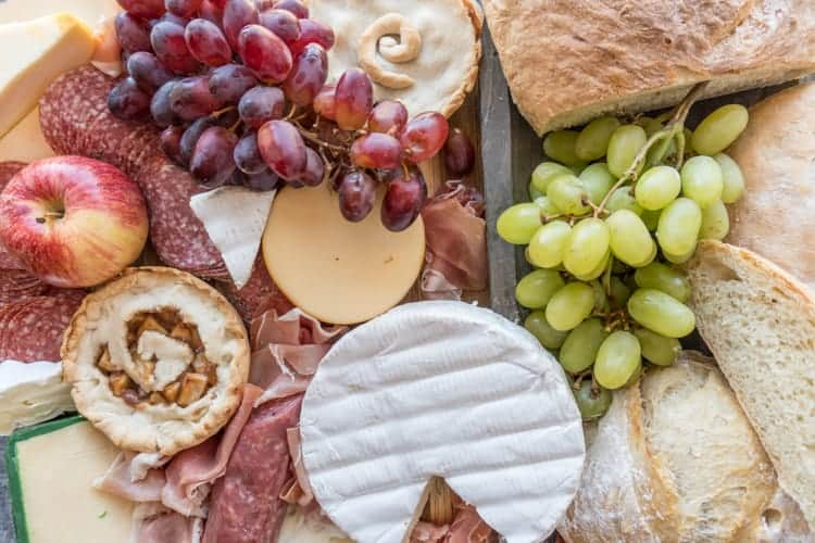 Charcuterie Board & Meat and Cheese Platter (Tavern Food) \u2022 A Table Full Of Joy