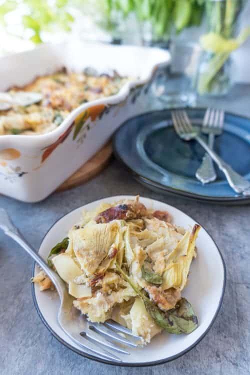 healthy chicken casserole