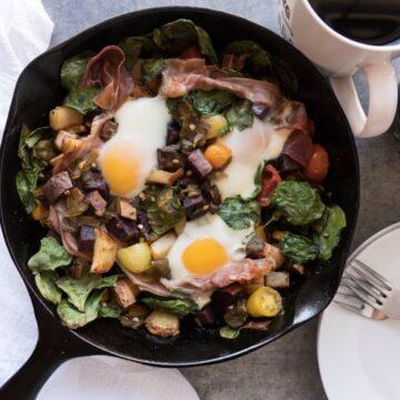 healthy breakfast skillet