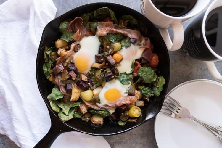 healthy breakfast skillet