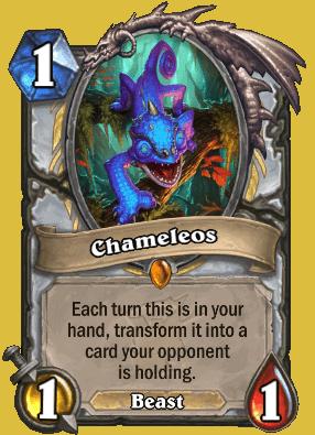 Chameleos Hearthstone Card