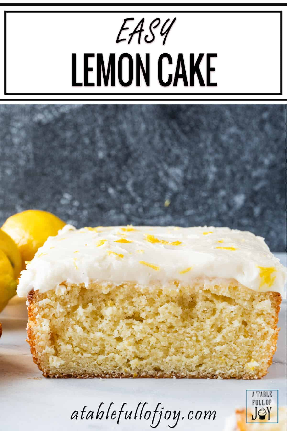Lemon Cake Pin