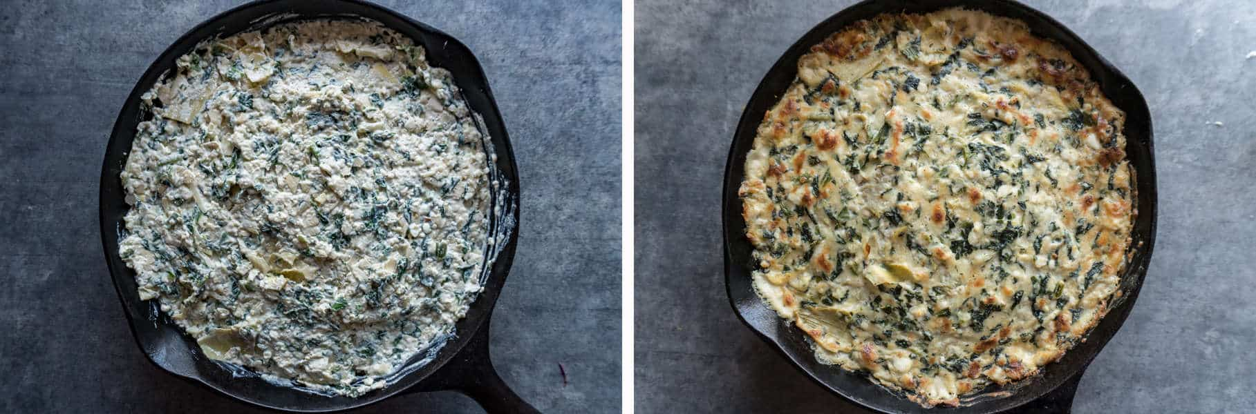 Spinach Artichoke Dip step 4 and step 5