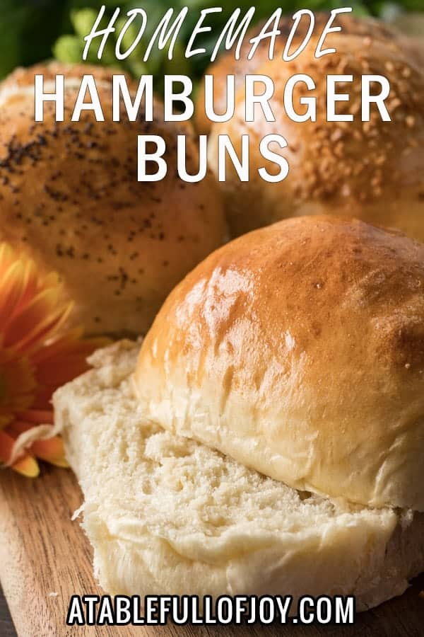 Hamburger Bun Recipe