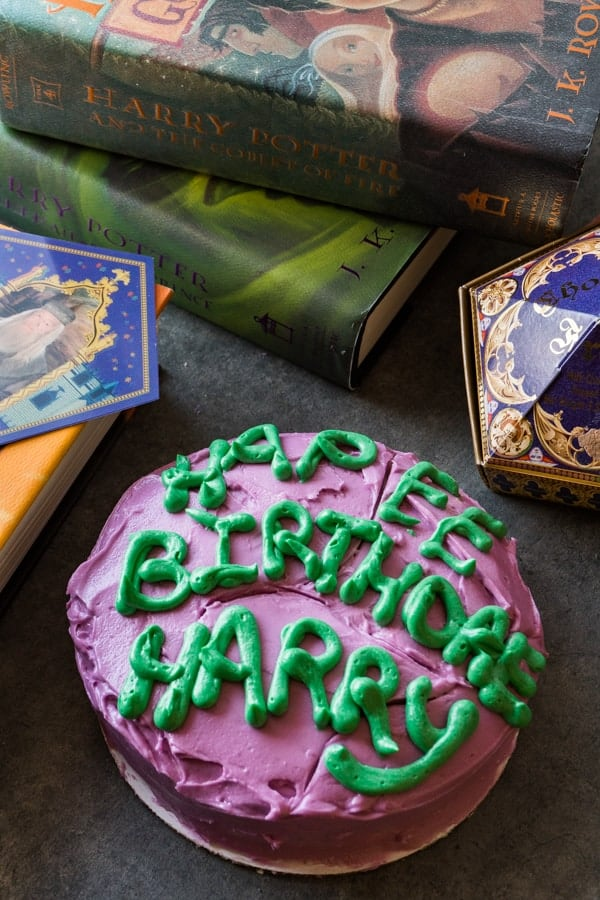 Harry Potter Cake O A Table Full Of Joy