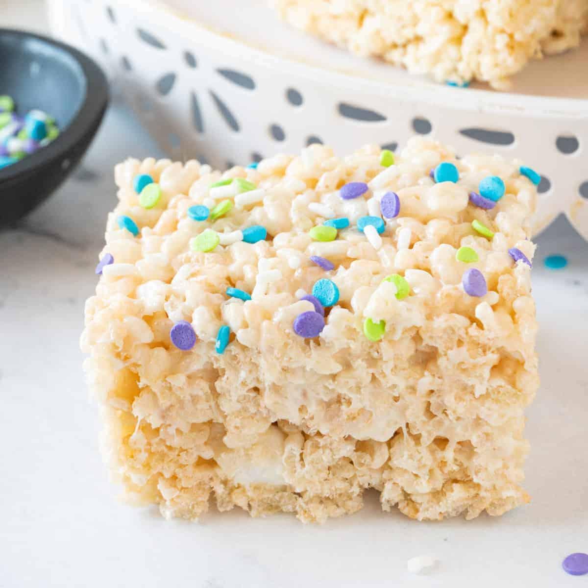 Rice Crispy Treat Featured Image
