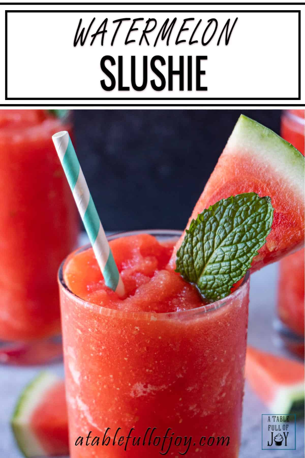 Watermelon Drink Pinterest Pin