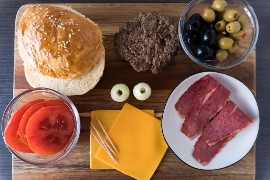 Durr Burger Fortnite Step 1 Ingredients