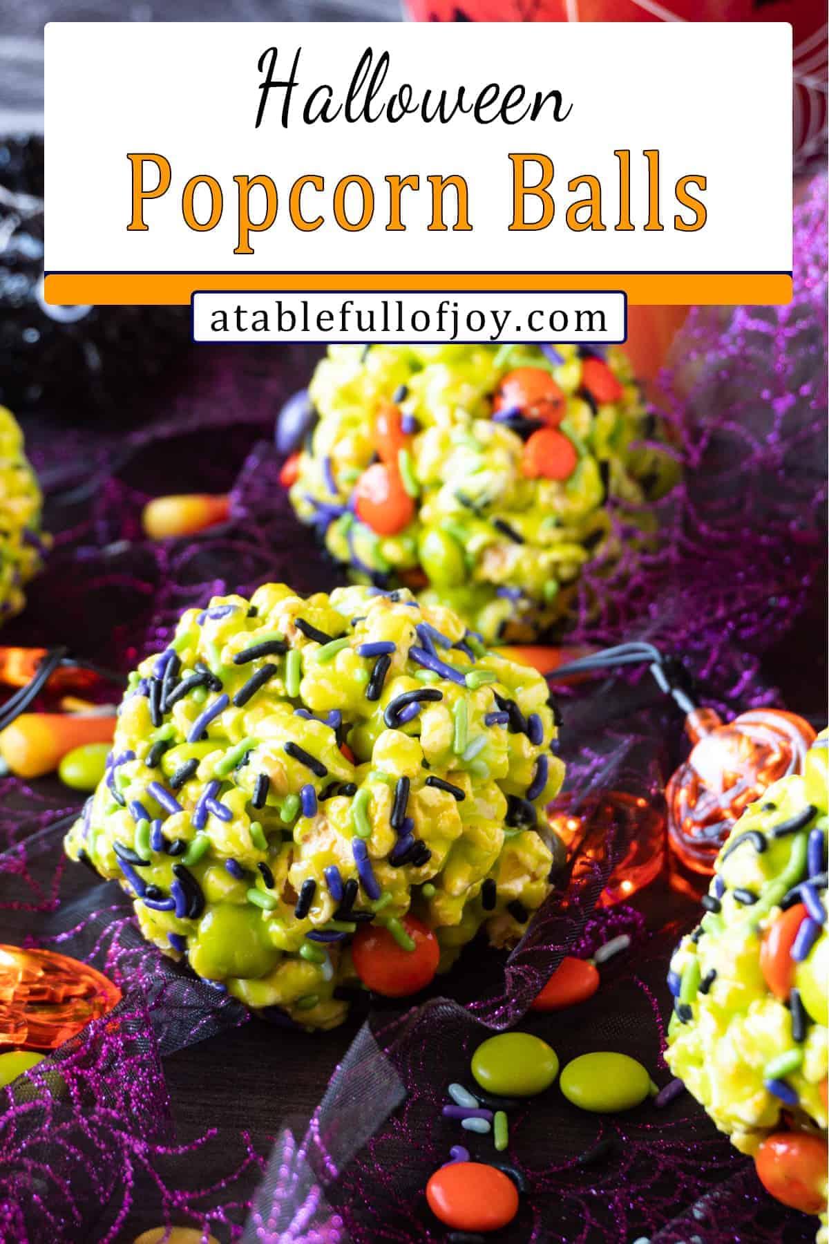 popcorn balls pinterest pin