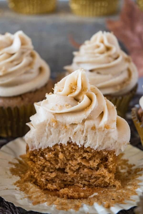 Sweet Potato Cupcakes