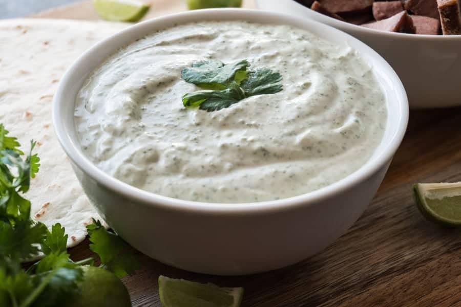Cilantro Lime Sauce