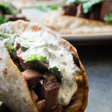 Tri Tip Taco