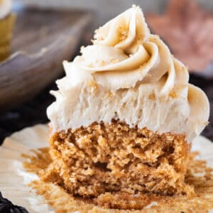 sweet potato cupcake featured image