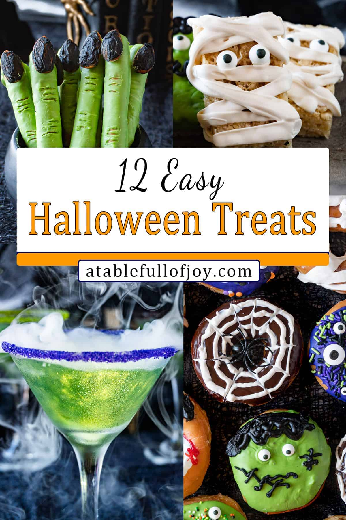 easy halloween treats pinterest pin
