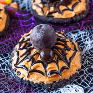 Halloween Spider Cookies featured image