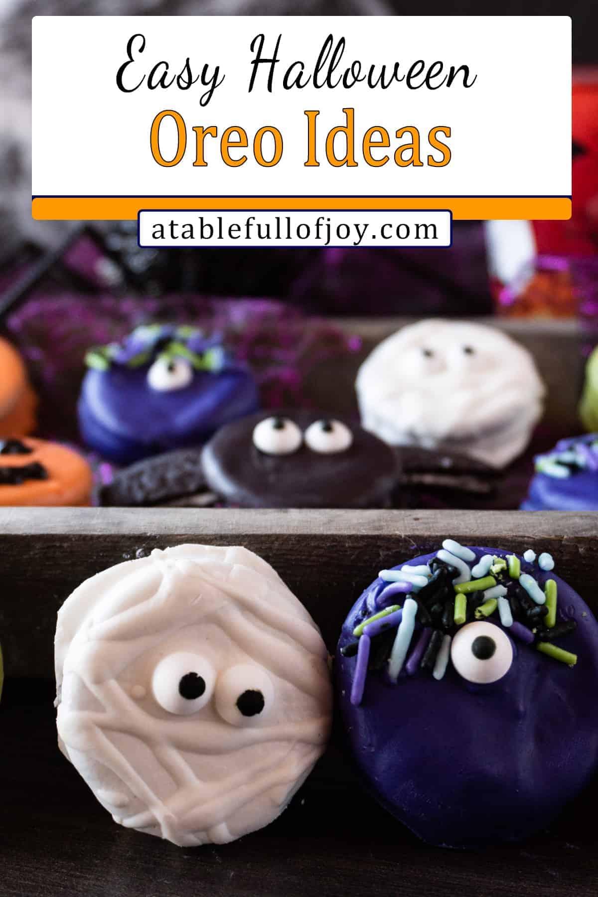 oreo halloween treats pinterest pin