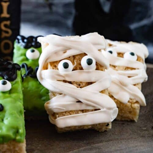 Halloween Rice Crispy Treats featured image