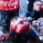 Cranberry Vanilla Coke-tail Recipe, A delicious Coke-tail perfect for the holidays! #ad #giftacoke #collectivebias #atablefullofjoy #cocacola #holiday #tistheseason #nonalcoholic #drinks #holidaydrink