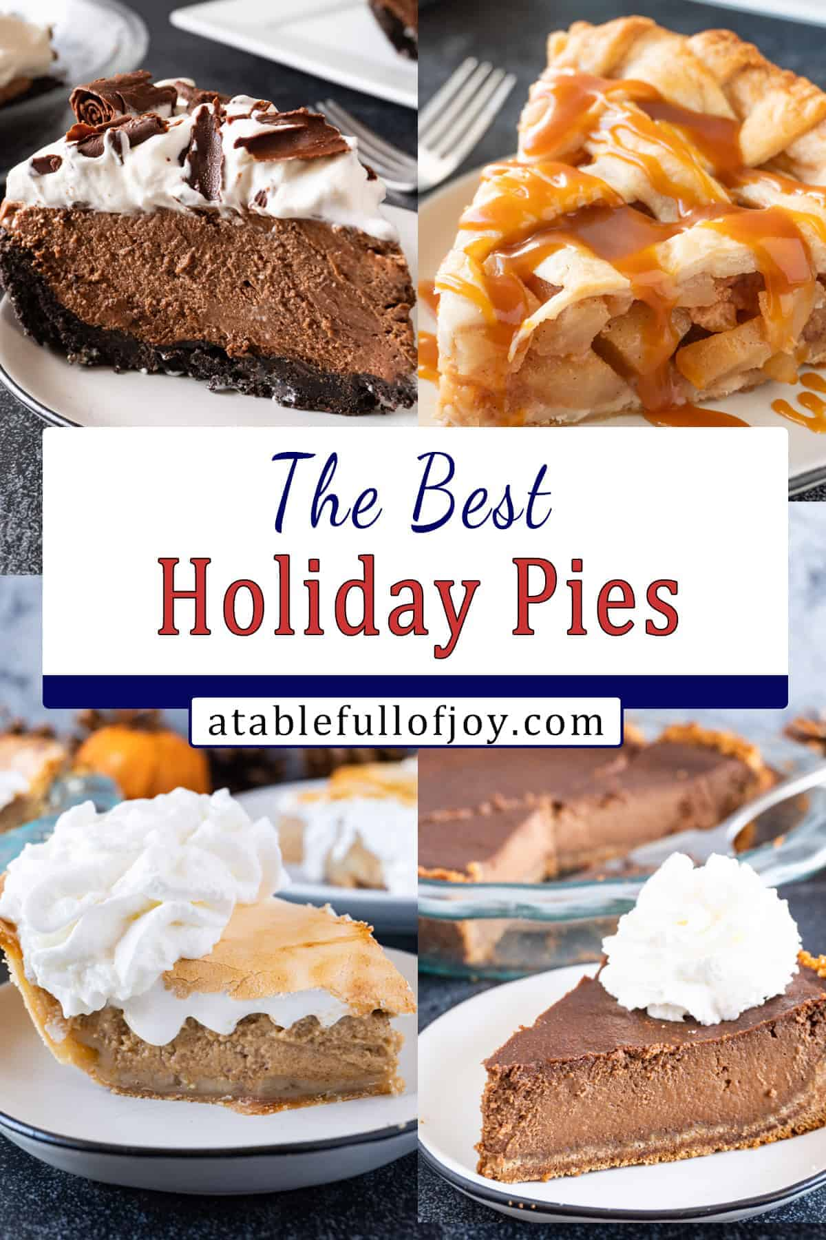 Holiday Pie Pinterest pin