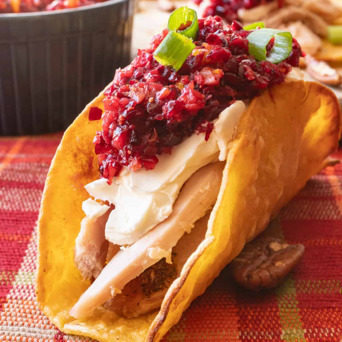 Thanksgiving Turkey Taco featured image