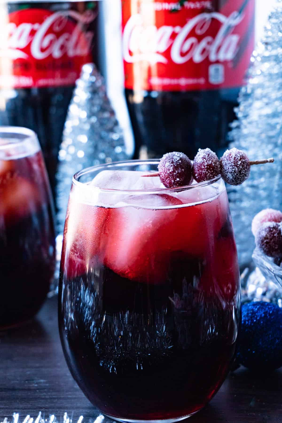 Easy Christmas Drink close up