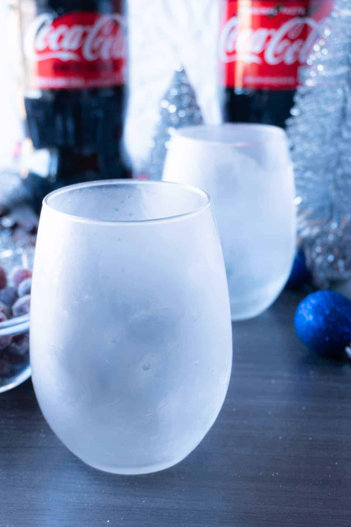 Frosted glasses