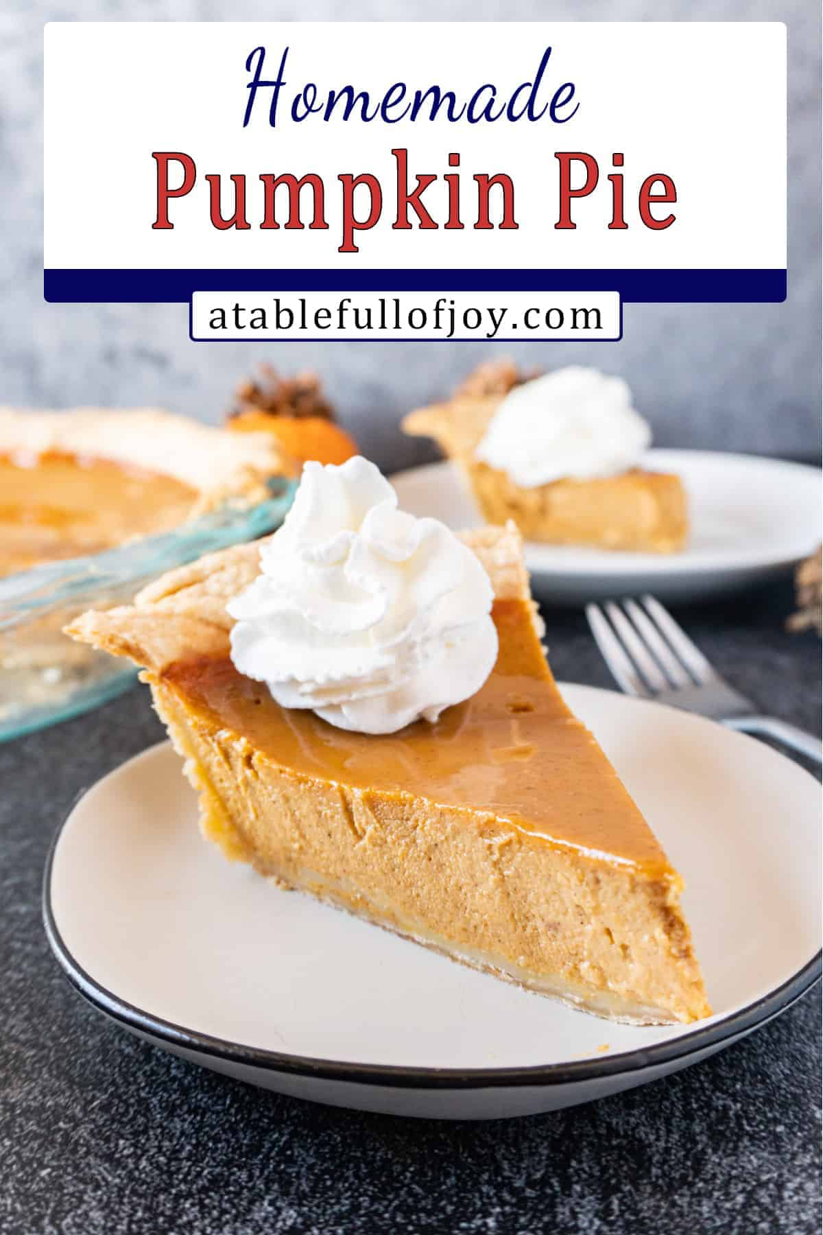 Pumpkin Pie pinterest image