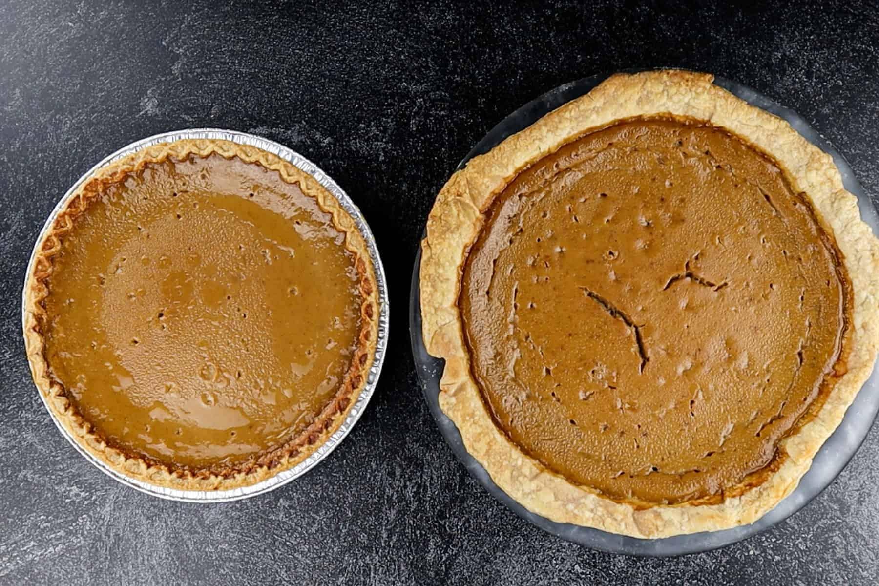 9 inch vs 9.5 inch pie