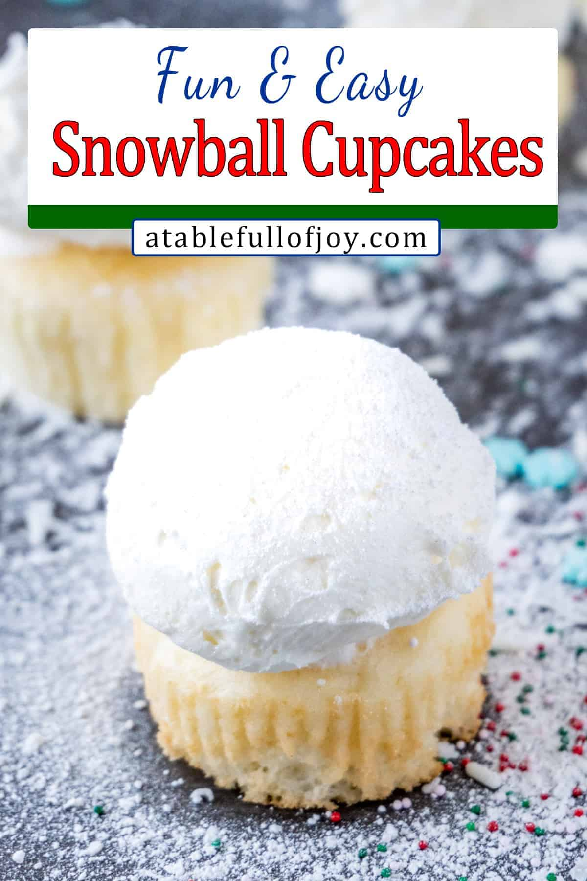 snowball cupcakes pinterest in