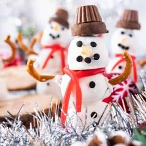 Snowman Dessert featured image