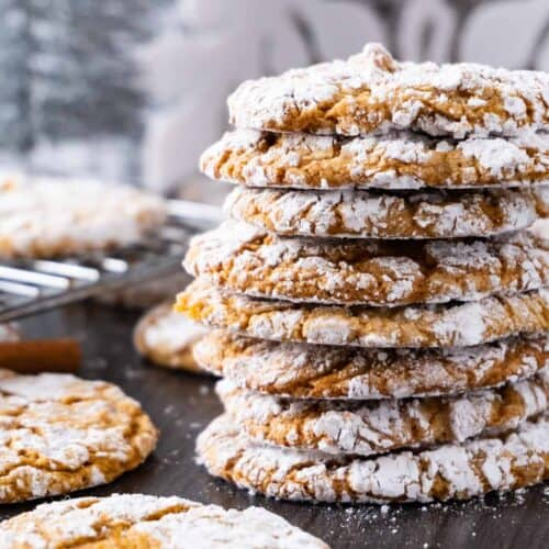 Chewy Gingerbread Cookies featured image