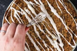 Coffee Cake with Icing
