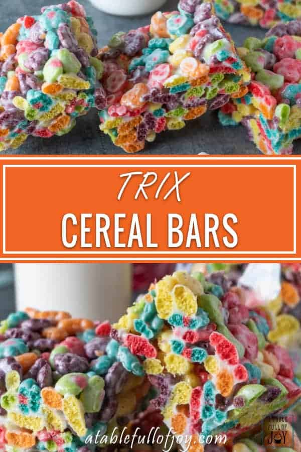 Trix Cereal Bar Pinnable Image