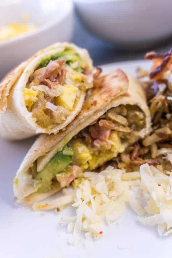 Delicous Breakfast Burritos