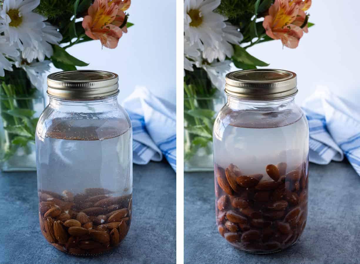 Homemade Almond Milk • A Table Full Of Joy