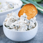 spinach dip featured image