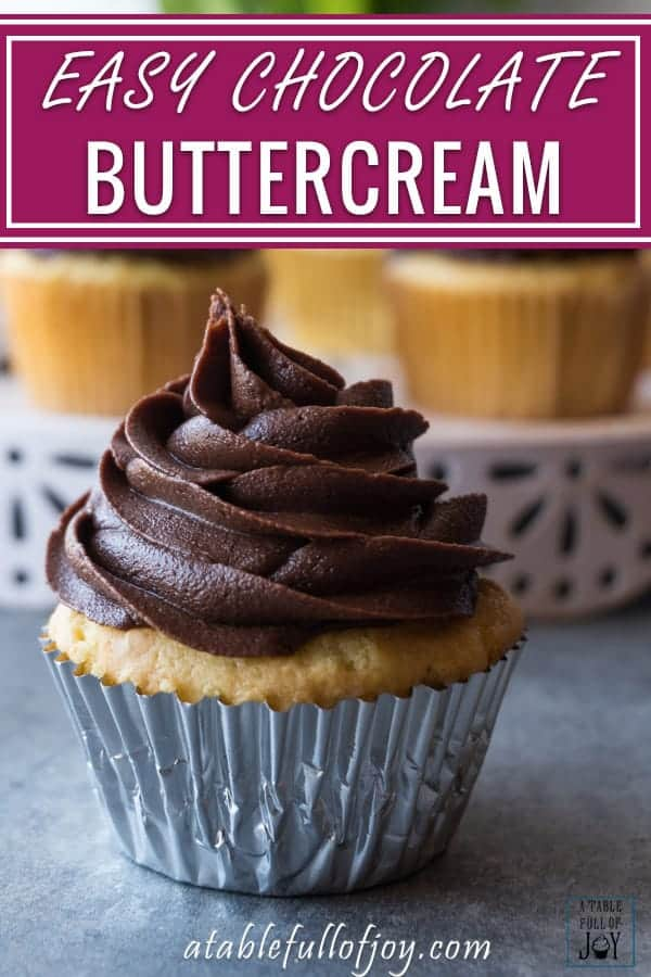 Chocolate Buttercream Pin