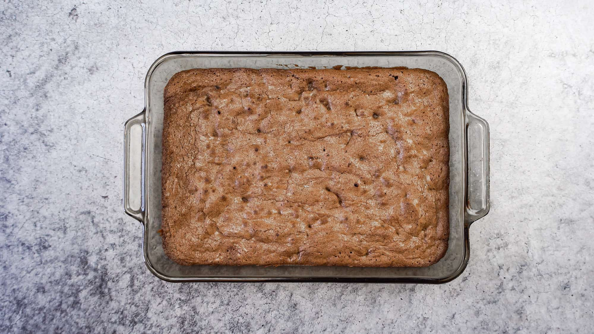 brownies baked in baking dishes
