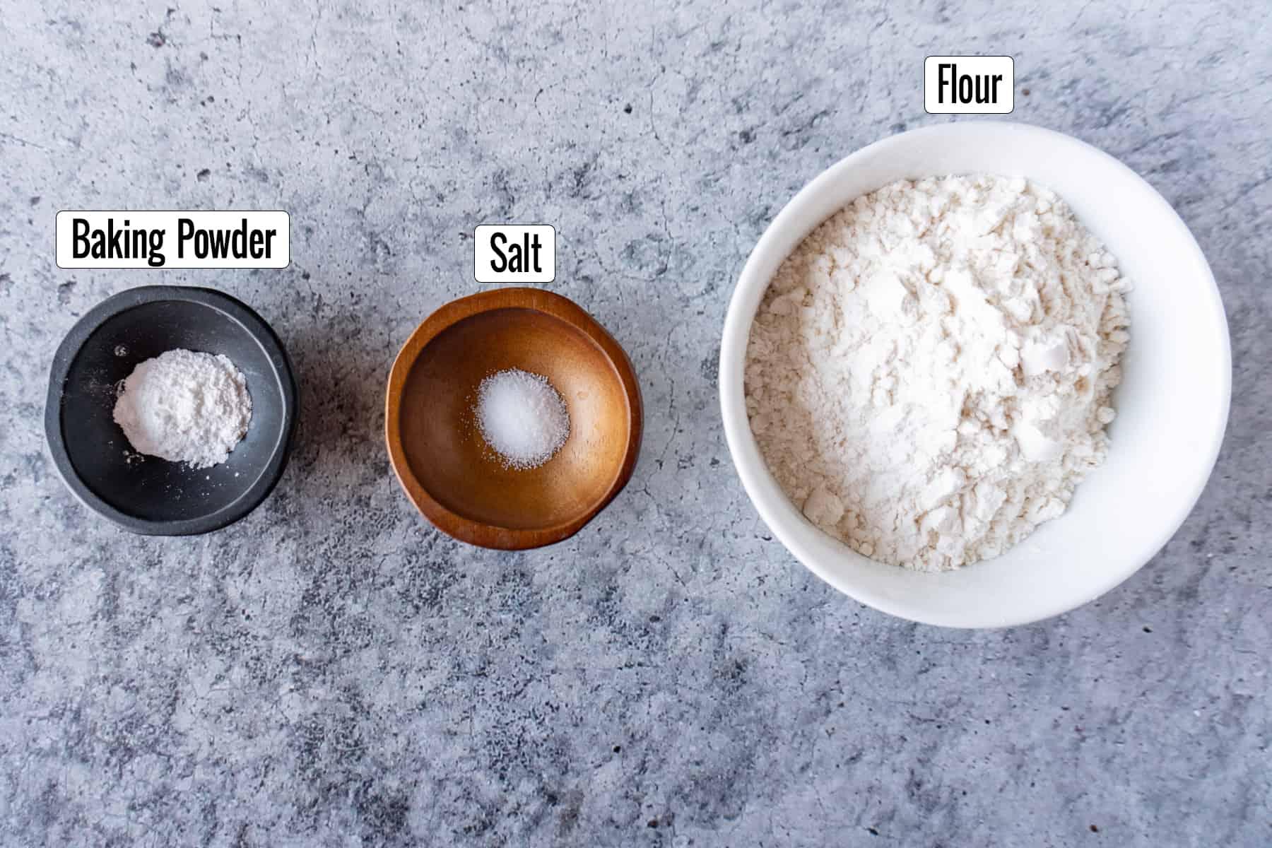 Best Homemade Brownies Recipe Ingredients: baking powder, salt, flour