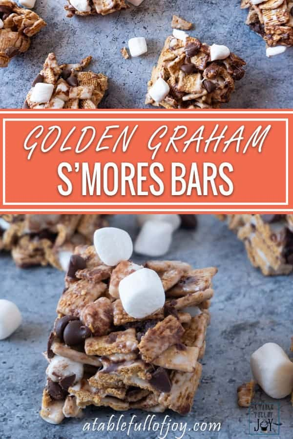 S'mores Bars Pinterest Pin