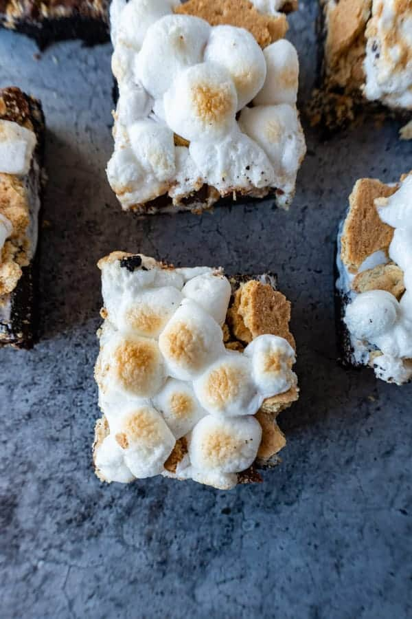 S'mores Brownies picture from above