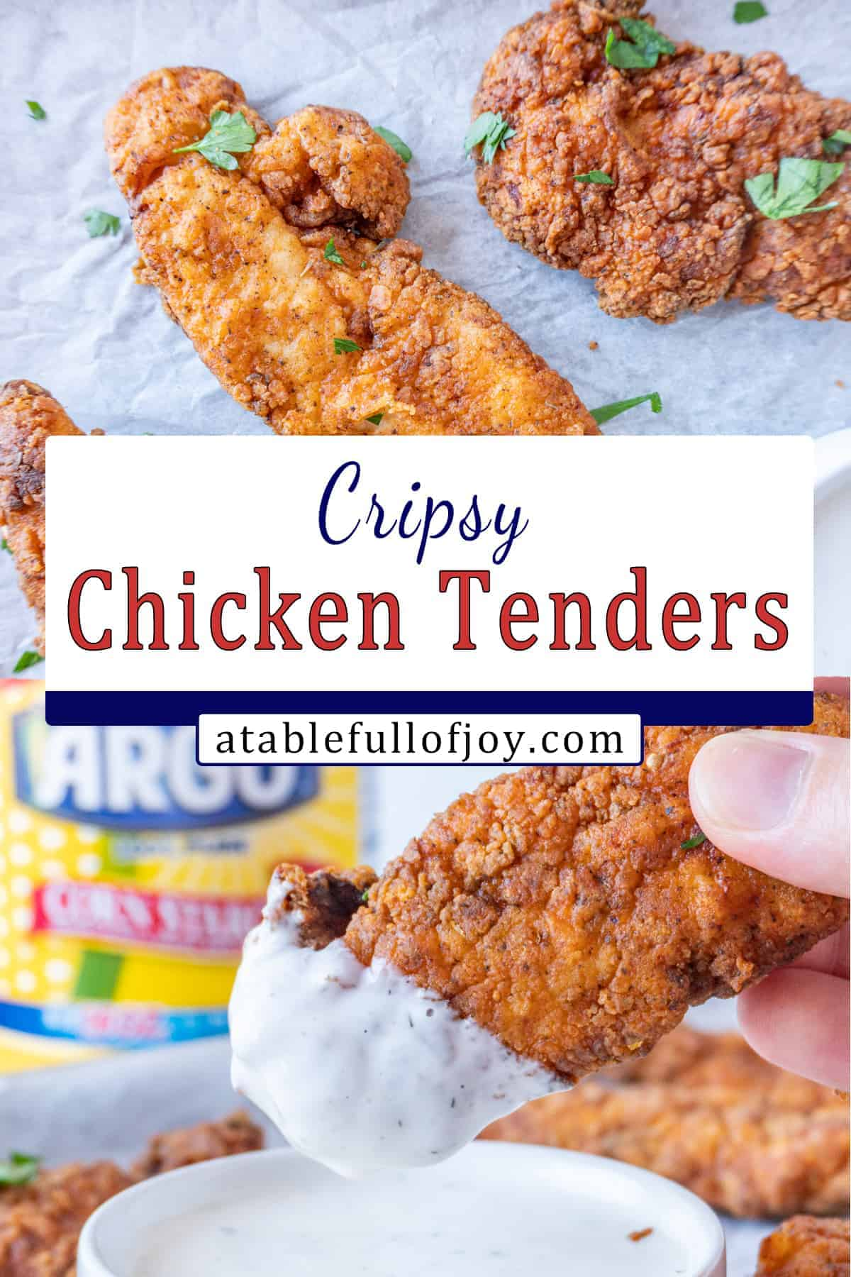 Chicken Tenders Pinterest Pin