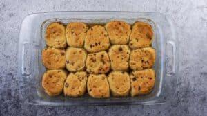 baked sticky buns