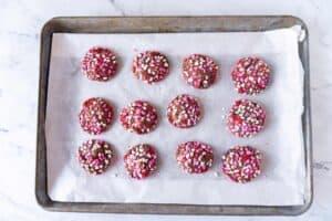 easy valentine cookies baked
